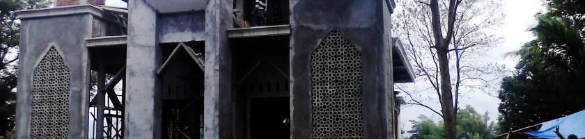 Pembangunan Masjid sumbangan Alumni Teknik Sipil