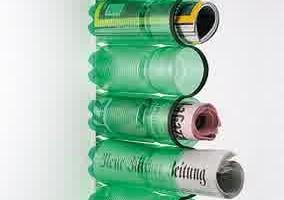 botol-bekas-untuk-tempat-koran