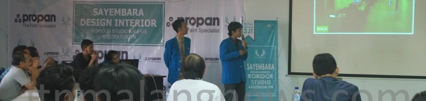 Audio Video Mewarnai Presentasi Final Sayembara Desain Interior