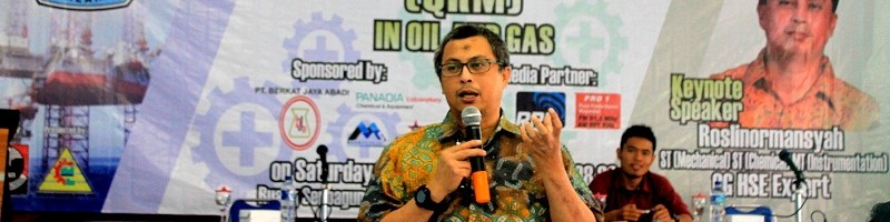 """Seminar Process Safety Management """"Quantitative Risk Management"""" QRM in Oil and Gas"""