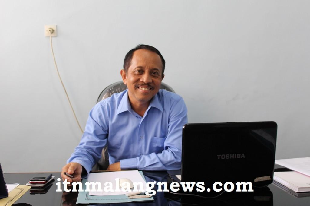 Dr. Ir. Kustamar, MT Wakil Rektor II ITN Malang