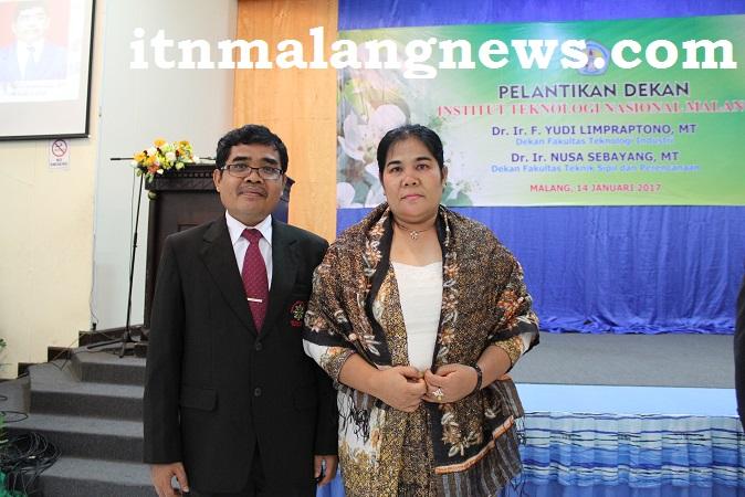 Dr. Ir. Nusa Sebayang, MT, Anak Karo Sumatra Utara Yang Berkarir di ITN Malang