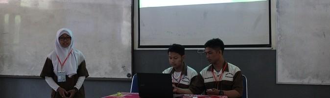 Lima Finalis Lomba Kuat Tekan Beton Saling Bersaing di ITN Malang