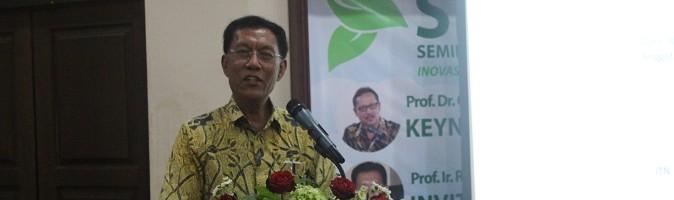 Dewan Energi Nasional dalam acara SENIATI ITN Malang