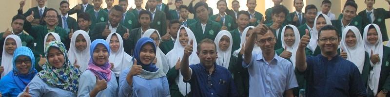 Siswa SMA Islam Brawijaya Mojokerto Kunjungi ITN Malang