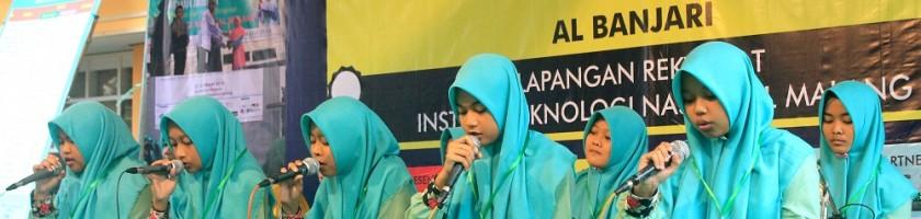 Lombang Al Banjari IFEST 2017 Goncang ITN Malang
