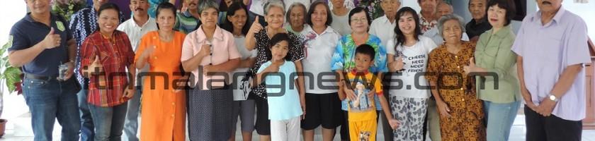 Wujud Perhatian, Panitia Natal ITN Malang Kunjungi Panti di Blitar