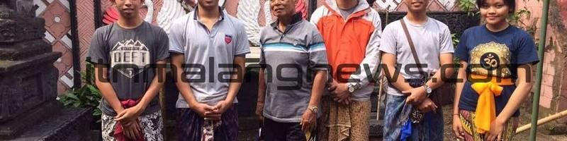 Penuh Perhatian, IMHD ITN Malang Turut Merawat Pura Wahya Sidhi