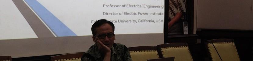 DC House, Proyek usulan Prof.Dr. Taufik