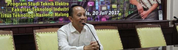 Wakil Rektor II ITN Malang Puji Penyelenggaraan Visiting Lecture Dari California