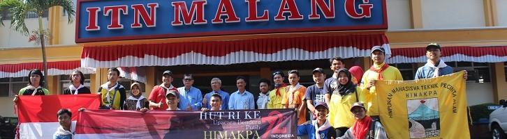 ITN Malang 35 Kali Upacara Kemerdekaan di Puncak Mahameru