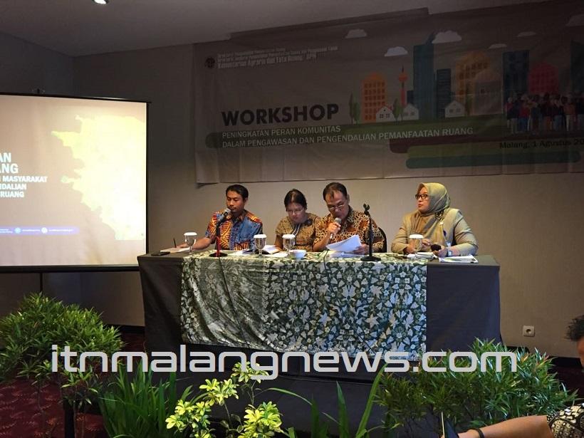 Spesial! Dosen ITN Malang Pembicara Dalam Acara Workshop Oleh Kementrian ATRBPN