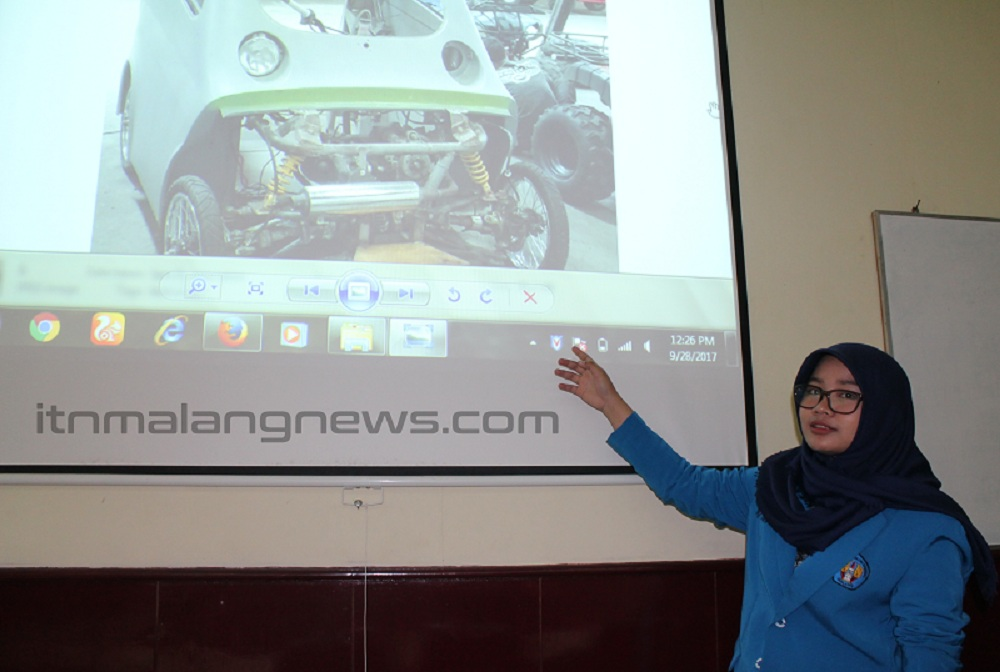 Inayah Nur'aini Lathifah, Wisudawati Terbaik Teknik Mesin ITN Malang