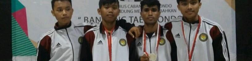 Menang KO, Mahasiswa ITN Malang Raih Emas Kejuaraan Taekwondo Kota Malang