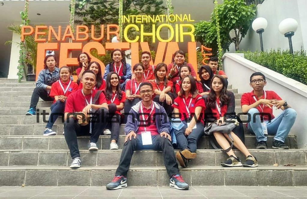 Paduan Suara Mahasiswa berikan Medali Silver untuk ITN Malang