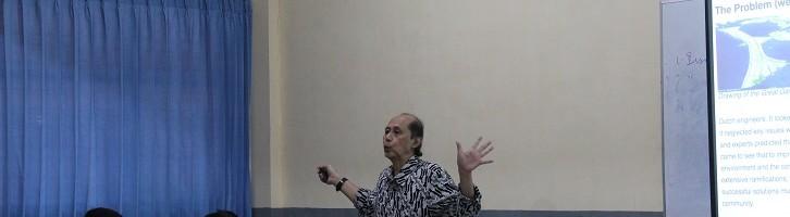 Prof. Kemal Taruc Yang Berubah Manusianya Bukan Kotanya