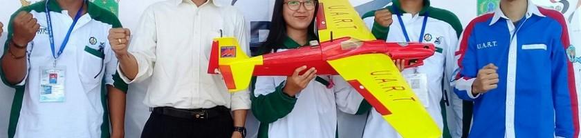 Tampil Lebih Baik Dari Tahun Lalu, Pesawat Mahasiswa ITN Malang Masuk Sebelas Besar