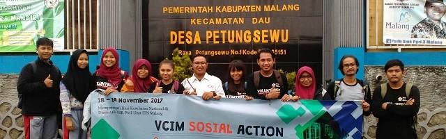 KSR ITN Malang Lakukan Bakti Sosial Di Petung Sewu
