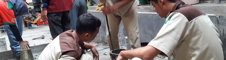 Teknik Sipil ITN Malang Gelar Lomba Kuat Tekan Beton Untuk SMK Sederajat