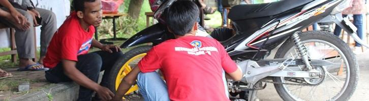 Warga Puas Servis Motor Ke Anak Mesin ITN Malang