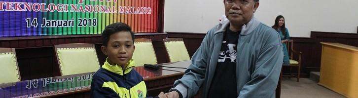 Arda Al Farhani, Top Skor Cilik Rektor Cup ITN Malang Pernah Hattrik