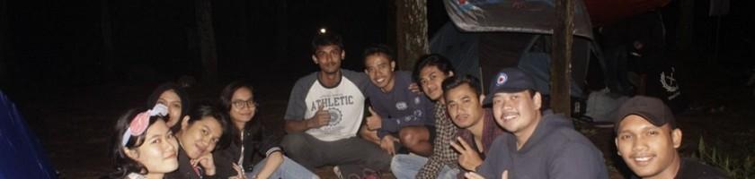 Camping di Bedengan, Mahasiswa ITN Malang Sambut Tahun Baru 2018