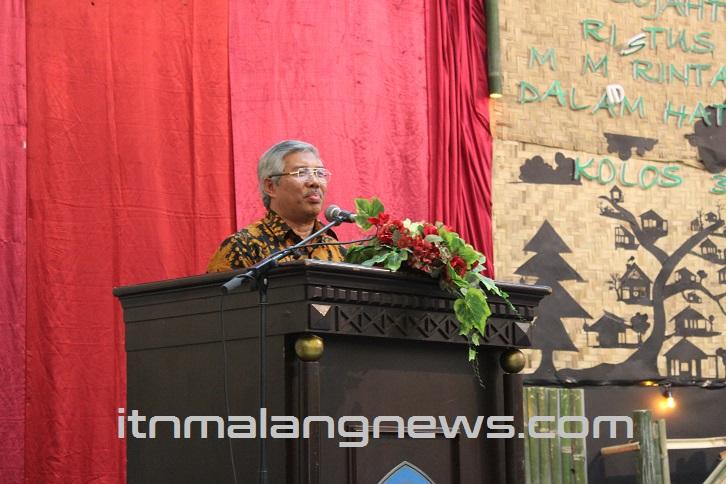 Dr. Ir. Lalu Mulyadi, MT Lulusan ITN Malang Harus Berkualitas Secara Lahir dan Batin