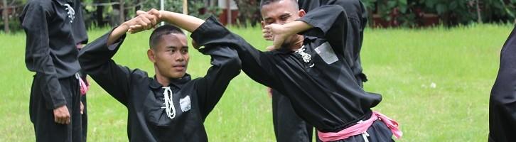 Jelang (UKT) PSHT ITN Malang Menggelar Latihan