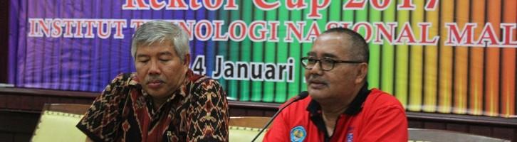 Rektor Cup ITN Malang Akan Digelar Hingga Level Nasional