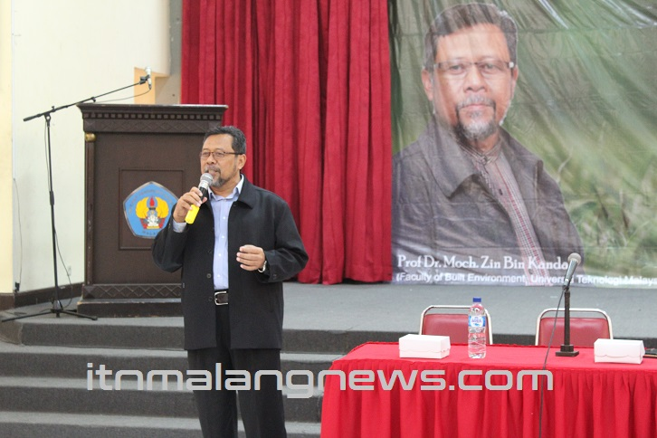Prof. Dr. Moch. Zin Bin Kandar Tugas Arsitek Buat Bangunan Yang Nyaman Tanpa Energi