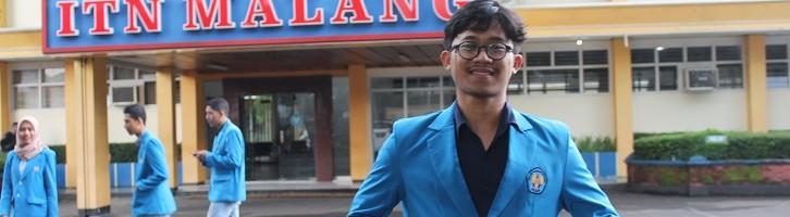 Teguh Adi Irawan, Wisudawan Terbaik Jurusan Teknik Industri S1 ITN Malang Tahun 2018