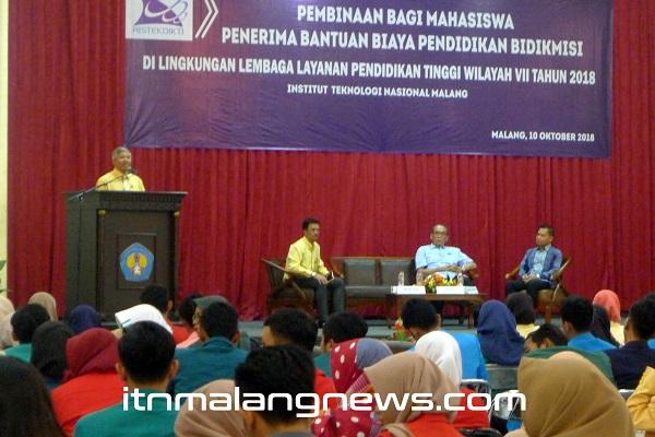 Sebanyak-168-Mahasiswa-Bidikmisi-dari-93-Perguruan-Tinggi-Swasta-(PTS)-Se-Jatim-Ikuti-Pembinaan-LLDIKTI-di-ITN-Malang