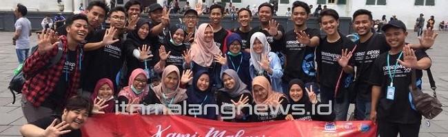 Mahasiswa ITN Malang Ikuti Fornasmapan Gemakan Semangat Anti Penyalahgunaan Narkotika