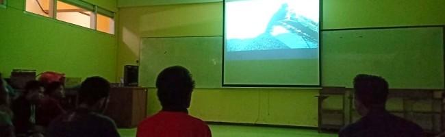 Mahasiswa Teknik Geodesi ITN Malang Nobar Sexy Killers