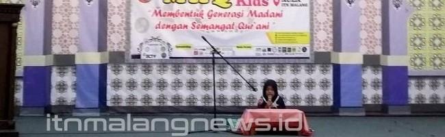Musabaqah Hifdzil Qur'an Kids ITN Malang, Wujudkan Generasi Qur'ani Sejak Dini