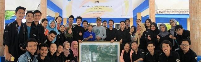 Aksi Nyata, Mahasiswa Geodesi ITN Malang Membuat Peta Desa Gading Kembar