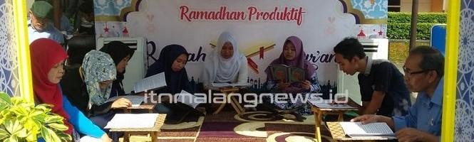 Rumah Quran Semarakan Perayaan Bulan Suci Ramadan di ITN Malang