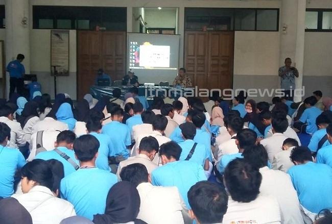 SMKN 5 Kota Tangerang Singgah ke ITN Malang