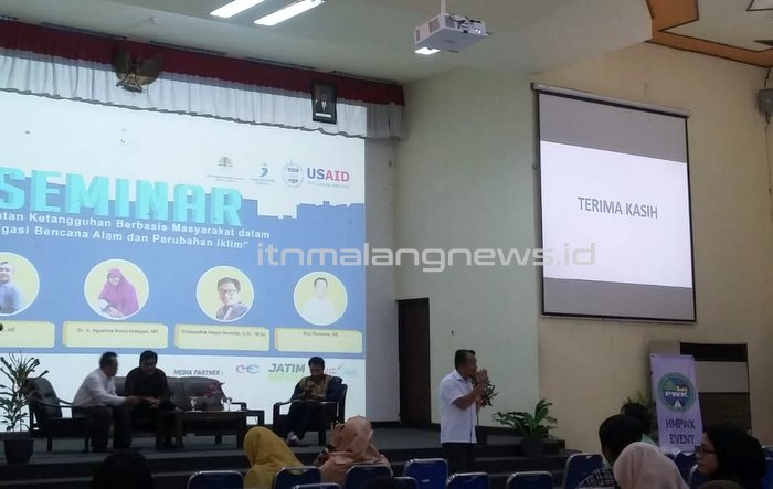 Seminar Teknik PWK ITN Malang, Kota Tanpa Kumuh, Memberantas Kekumuhan dari Akar Rumput