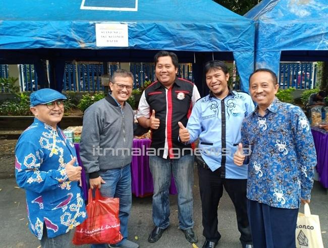 Ir. Budi Fathony, MTA., (paling kiri) dalam salah satu event Gema Ramadan 2019 di ITN Malang