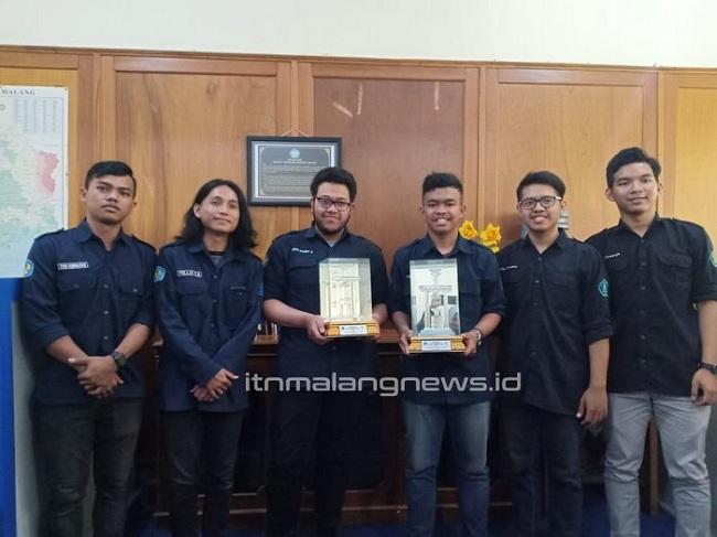 Teknik Sipil ITN Malang Boyong Trofi LKTB 2019