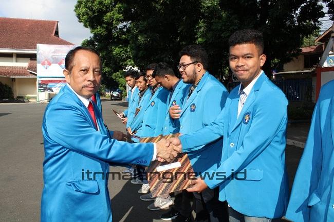 17 Agustus ITN Malang Adakan Upacara Bendera dan Beri Penghargaan kepada Segenap Sivitas Akademika