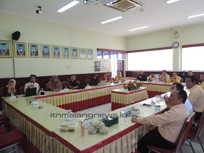 Monev TISC, ITN Malang Ingin Terus Berkembang