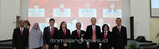 Pesan Rektor dan Dekan bagi Pejabat Baru ITN Malang