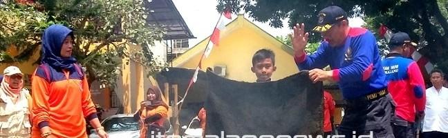 ITN Malang Ajak MIN 2 Kota Malang Edukasi Bencana Sejak Dini