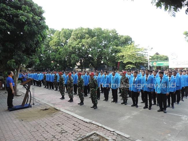 PKKMB 2019 Wujudkan Generasi Disiplin dengan Latihan Dasar Kedisiplinan