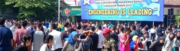 PKKMB ITN Malang Bermain Bersama Melatih Kekompakan