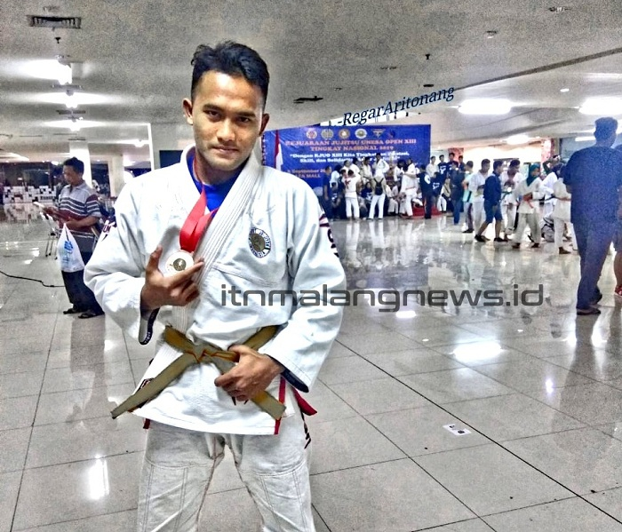 Atlet Ju-Jitsu ITN Malang Raih Juara 3 di UNESA Surabaya