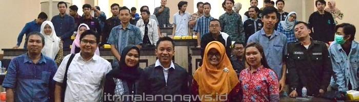 Gerak Milenial Hadapi Revolusi Industri 4.0 Teknik Industri ITN Malang