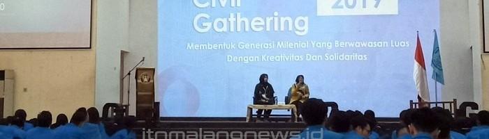 Civil Gathering 2019 ITN Malang, Ajak Maba Mengubah Pola Pikir